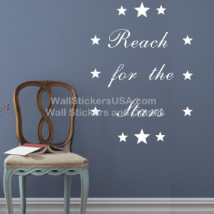 reach for the stars quot quote saying
