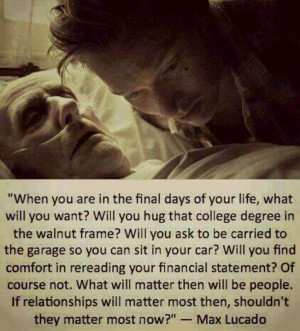 What really matters in life #Love