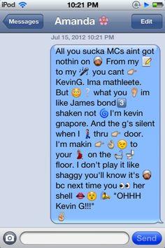And Songs Reenacted In Emojis Emojis Amazing, Funny Texts, Emojis ...