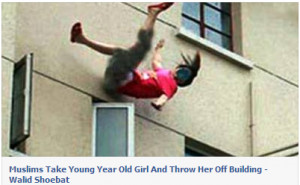 EGYPTIAN MUSLIM MOBS ATTACK CHRISTIAN HOMES, TOSS 15 YR.OLD OUT OF 3RD ...