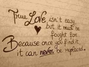 Fight To Find True Love