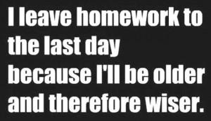 motivation to do homework quotes