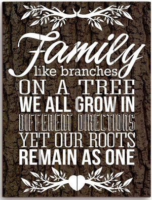 Quotes About Family Roots ~ Family Roots Quote ? | Inspirational ...