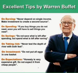 Warren Buffett Presentation About Debt, Money and Your Savings