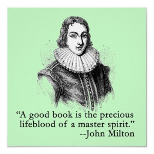 Book Quote, John Milton