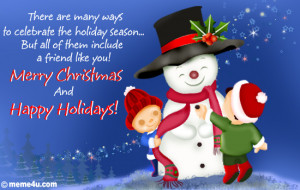 Merry CHRISTMAS Wishes and Happy New Year Greetings