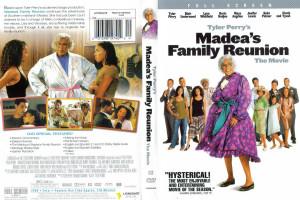 Madea Family Reunion Vhs Cover