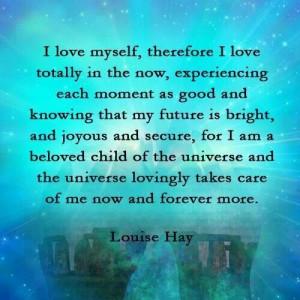 love myself. ... / QUOTES