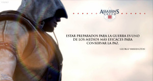 Assassins Creed Quotes Assassin's creed iii - war by