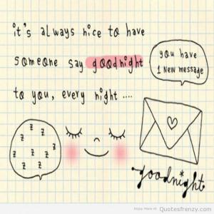 Goodnight Cute...