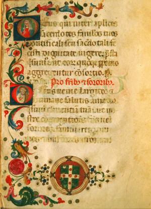 15th Century North Italian Illuminated Manuscript