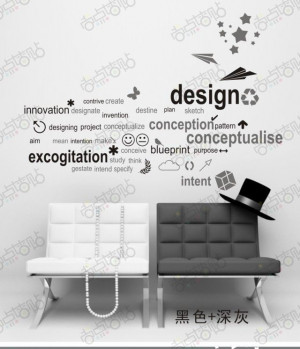 New Arrival Design quotes vinyl wall sticker FREE SHIPPING DIY wall ...