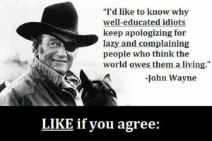 great John Wayne quote