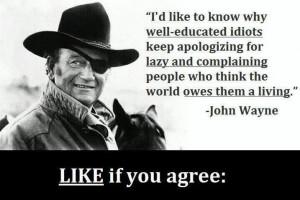 great John Wayne quote