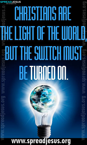 Light Of The World Quotes Quotesgram