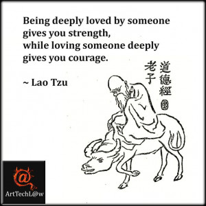 lao tzu lao tzu quotes love strength courage arttechlaw taoism zen