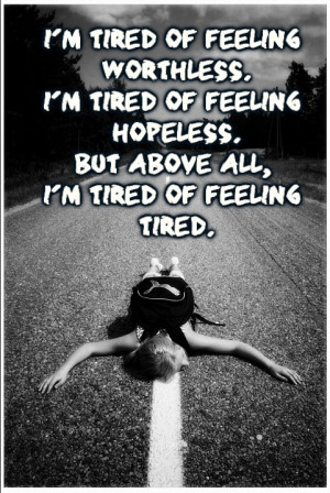 Tired fo feeling tired. by BayausS