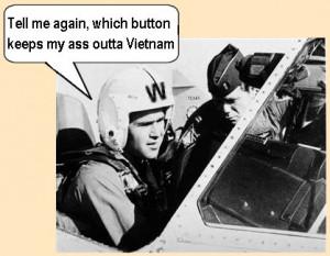 Bush in the Texas Air National Guard