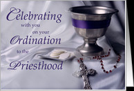 Priest Ordination, Congratulations Christian Ordained Priesthood card ...