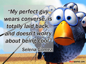 ... Totally Laid Back, And Doesn't Worry About Being Cool - Worry Quote