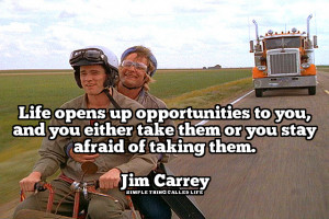 Jim Carrey on Seizing Opportunity [QUOTE]