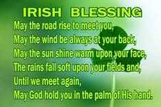 Irish Blessing: I actually sang a version of this song when I was in ...