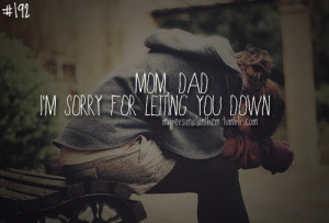 Im Sorry Mom Quotes