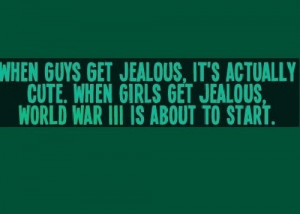 Funny Jealousy Quotes. QuotesGram
