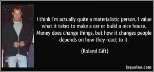 Quotes On Materialistic People
