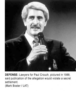 Links & Photos to the Paul Crouch Homo Black Lover Story
