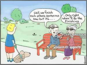 Elderly Couple cartoons, Elderly Couple cartoon, funny, Elderly Couple ...