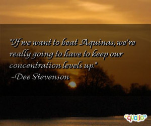 33 concentration quotes follow in order of popularity. Be sure to ...