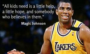 Magic Johnson   Diagnosed with HIV