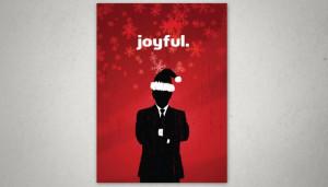 Christmas card design NC Lawyer