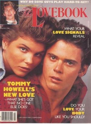 Lori Loughlin & C. Thomas Howell, The Lovebook Magazine 1985