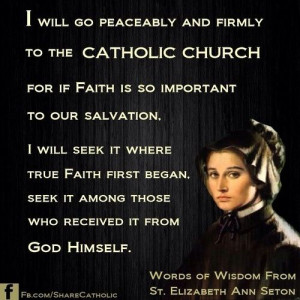 Testimony towards Catholicism being the fullness of the Christian ...