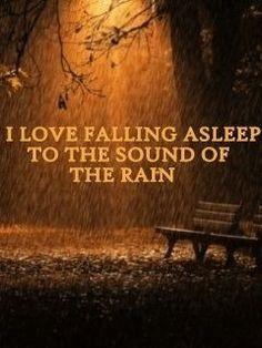Rain, thunder, lightning