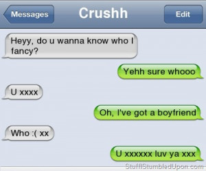 how to turn a guy down nicely over text