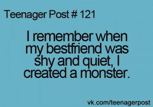 teenagerposts | Pinterest | To tell, Fight fight and My life |Teenager Post About Friendship