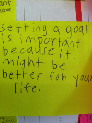 Goal Setting Quotes For Students Setting goals