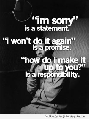 Im Sorry Sad Quotes