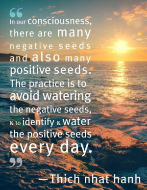 Negative and positive seeds! #quotes