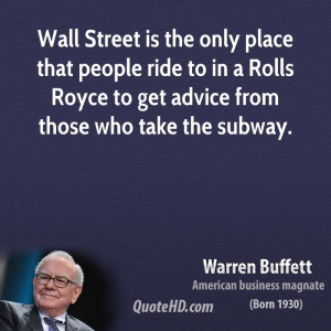 Wall Street Quotes