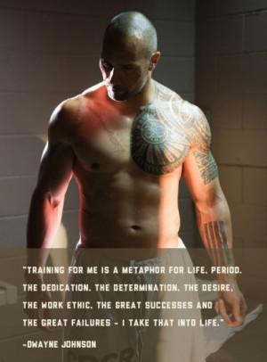 Dwayne Johnson Motivational