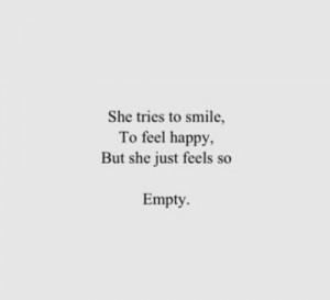 Feeling Empty Quotes I 39 m fine quote empty