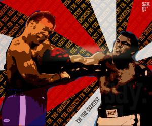 the punch - muhammad ali vs. george foreman by TheSayGi