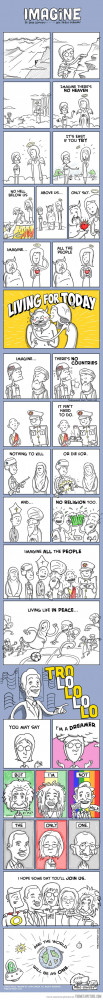Funny photos funny Imagine John Lennon cartoon