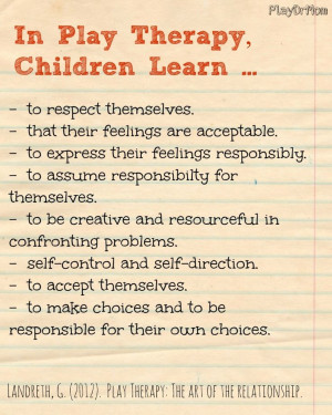 IN PLAY THERAPY Maybe you're a parent thinking about giving play ...