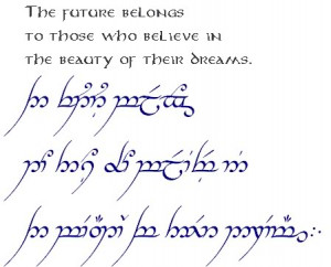 READ ONLY - Official TENGWAR Transcription (and TATTOOS) - I