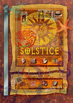 Summer Solstice Digital Art